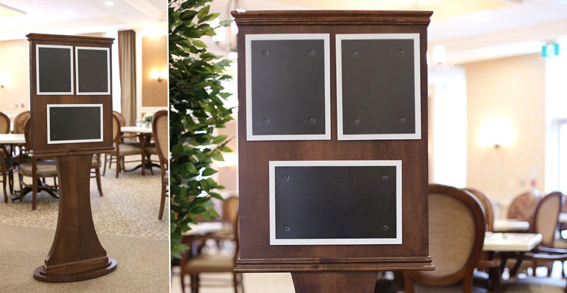 Aroh Concierge Display Stands